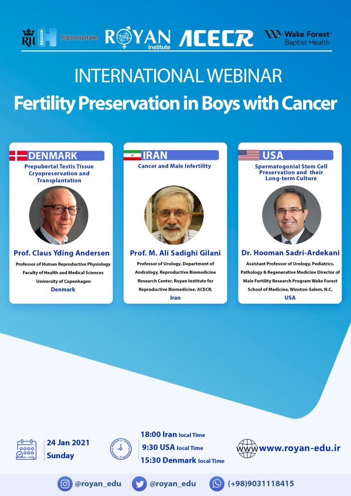 fertility preservation in boys with canver