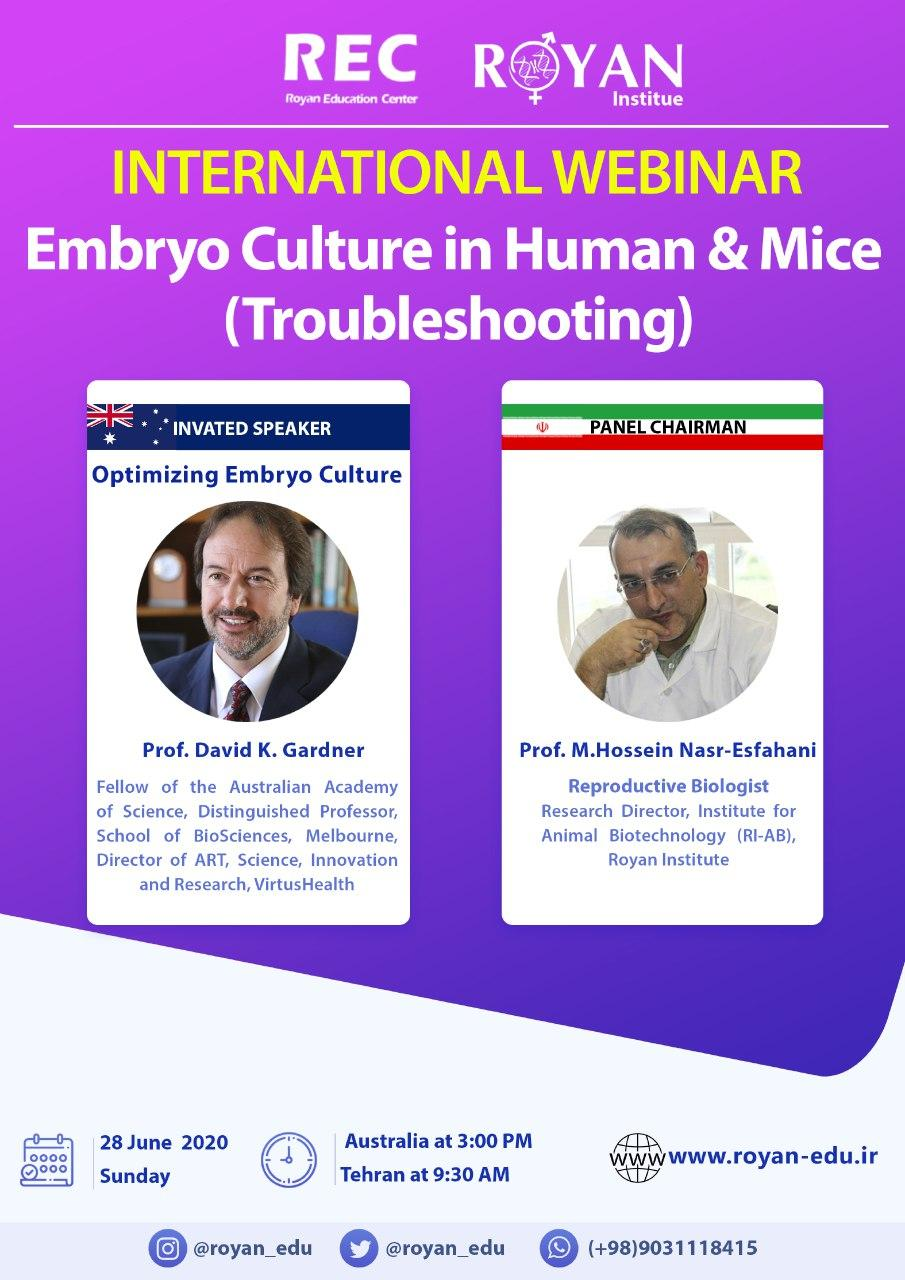 Embryo Culture in Human & Mice (Troubleshooting)